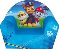 Merkloos Paw Patrol kinderstoel/kinderfauteuil 33 x 52 x 42 cm kindermeubels - Rubble/Chase/Marshall - Kinderkamer meubeltjes - Stoelen/fauteuils voor jongens/meisjes/kinderen
