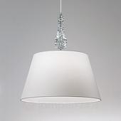 lam Witte hangp Crystal wit