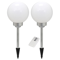 smartwares Ra-5000391 Led Solar Tuinlamp Op Spies met Afstandsbediening...