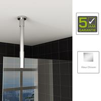 Boss&wessing BWS Plafond Stabilisatiestang rond 100 cm Inkortbaar Chroom