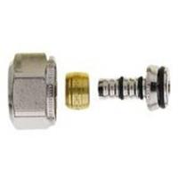 Heimeier 1333 knelringset uitwendige buisdiameter 14mm draadaansluiting binnendraad knelring messing