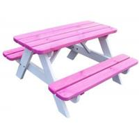 Kinder picknickset - roze