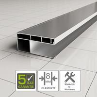 Boss&wessing BWS Erie Verbredingsprofiel voor Douchewand Aluminium 3x202 cm