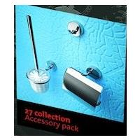 Geesa 27 collection toilet accessoires pack, chroom
