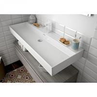 Muebles Veneto keramische wastafel 80x46cm met 1 kraangat wit