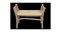 HSM Pank bench - antiek - teak