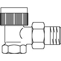 Oventrop thermostatische radiatorafsluiter AV9 3/4 recht 1183806