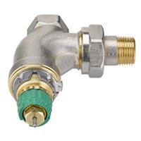 Danfoss Dynamic Valve thermostatische radiatorafsluiter haaks verkort 3/4 instelbaar debiet van 25 135 l/h RA DV 013G7715