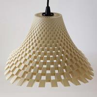 Tagwerk Aantrekkelijke design-hanglamp Flechtwerk