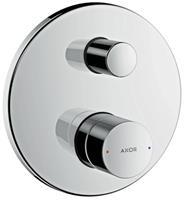 Axor Uno 3 afdekset badkraan met zero greep chroom