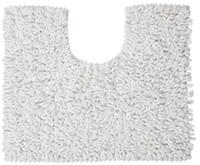 Sealskin Twist toiletmat microfiber 45x50 wit