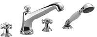 Dornbracht Villeroy en Boch Madison 4-gats badmengkraan voor badrand- en tegelrandmontage (2750236)