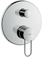 Axor Uno 3 afdekset badkraan beugelgreep en zekerheidscomb. chroom