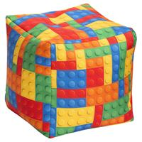 Sitting Point Poef Cube BRICKS