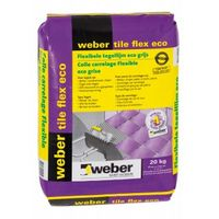 Weber tile flex flexibele tegellijm eco 4kg