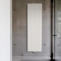 Vasco Carre Plus designradiator 2200x415mm 1775W aansluiting 1188 wit 112100415220011889016-0000