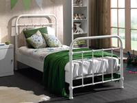 Mobistoxx Bed BROOKLYN 90x200 cm wit