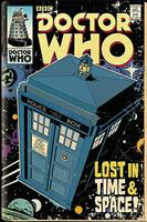 Doctor Who Tardis Comic Poster 61x91,5cm