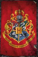 Harry Potter Hogwarts Flag Poster 61x91,5cm