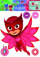 muurstickers PJ Masks Owlette 2 stickervellen