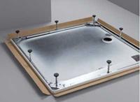 Bette douchebakdrager/-poten/-frame frame staal (lxbxh) 1000x750x65 - 120mm verzwaarde uitvoering