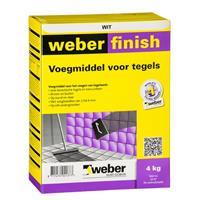 Weber finish voegmiddel wit 2kg