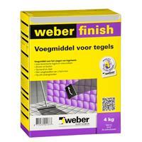Weber finish tegel voegmiddel 2kg, wit