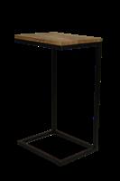 Henk Schram bijzettafel Read - naturel/zwart - 38x30x65 cm