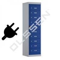 BASIC Laptop locker met 10 vakken (Inclusief power management)