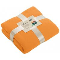 James & Nicholson Fleece deken oranje