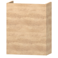 Wavedesign Domino fonteinonderkast incl.fontein 40x22x60 cm. naturel oak