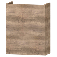 Wavedesign Domino fonteinonderkast incl.fontein 40x22x60 cm. grey oak