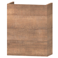 Wavedesign Domino fonteinonderkast incl.fontein 40x22x60 cm. brown oak