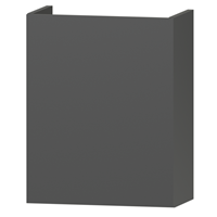 Wavedesign Domino fonteinonderkast incl.fontein 40x22x60 cm. diamant grey