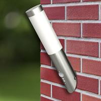 Vidaxl Buitenlamp RVS Enego met sensor