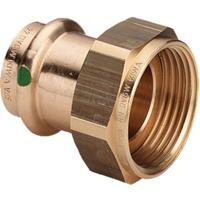 Viega Profipress 2 delige koppeling SC binnendraad 12x1/2 brons 380878