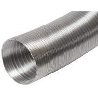 Plieger aluminium luchtslang ø150 mm 3 m, aluminium