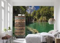 Fotobehang Eden Falls