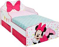 Bed Disney Minnie Mouse - wit/roze - 142x77x63 cm