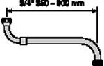 Neoperl boven/onderuitloop 35-60 cm,