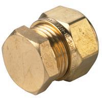 Vsh Multi Super eindkoppeling 20 mm, knel k3065, messing