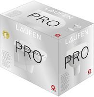 Laufen Pro Pack hangend toilet diepspoel rimless met toiletzitting SlimSeat, wit