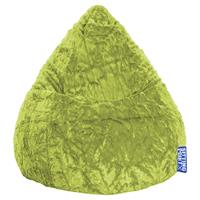 Sitting Point Kinder Zitzak BeanBag Fluffy L - Groen