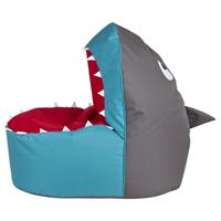 Sitting Point Brava Kinder Zitzak - Haai/Shark