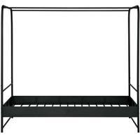 Hemelbed Bunk metaal zwart 120x200cm