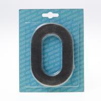 Oxloc Huiscijfer roestvaststaal 120mm nr 0