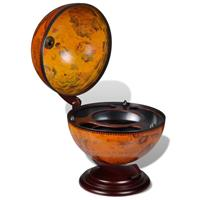 VidaXL Globebar tafelmodel hout