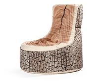 Sittingpoint Zitzak stoel Swing Wood - Natuur