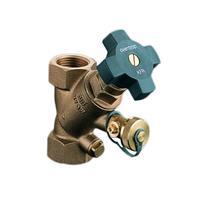 """Oventrop Aquastrom ventiel KFR binnendraad 1 1/4"""" DN32 PN16 met ontluchting"""