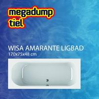 wavedesign Ligbad Amarante Wit - 170x75x48 cm Wit